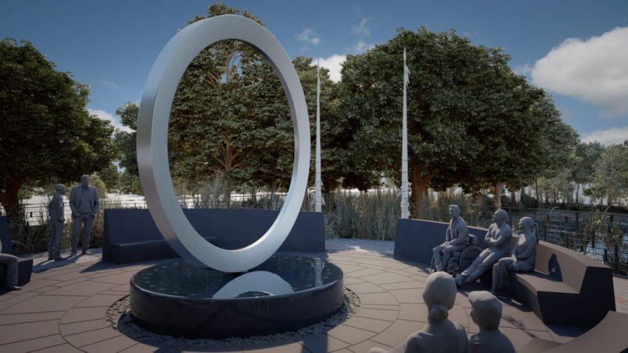Oklahoma artist designs first national memorial honoring Native veterans