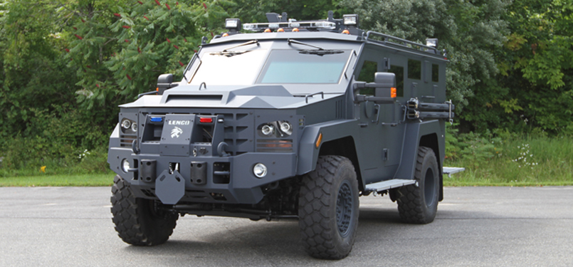 The+Lenco+BearCat+%28Ballistic+Engineered+Armored+Response+Counter+Attack+Truck%29+G3+is+designed+specifically+for+law+enforcement+purposes+and+is+not+weaponized%2C+though+it+is+equipped+with+gunports+large+enough+to+fit+40mm+gas+canisters+or+small+arms.+Priced+from+%24200%2C000+to+%24275%2C000%2C+the+20-foot+vehicle+has+seats+for+up+to+12+officers+or+evacuees+and+running+boards+where+additional+personnel+can+be+accommodated.+Photo+courtesy+of+Lenco.+