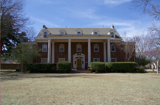The Triangle fraternity house is located on 702 South Lahoma Avenue in Norman, Oklahoma. The fraternity recently switched greek councils to better serve its members.