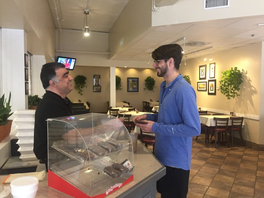 Iranian Immigrant Finds His Passion with Italian Buffet
