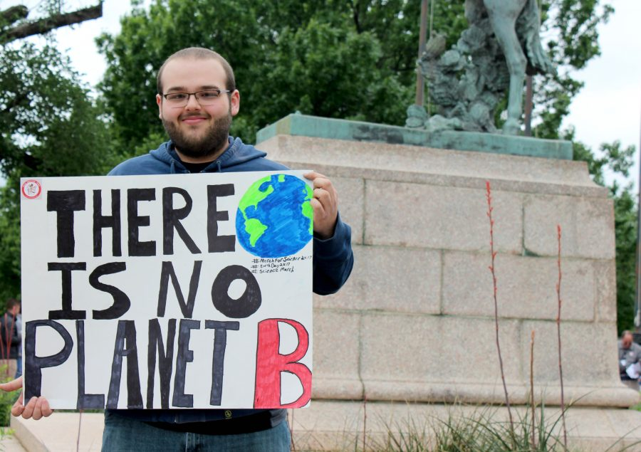 There is no Planet B: Oklahomans March for Science