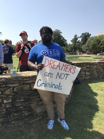OU Students Show Support to Dreamers