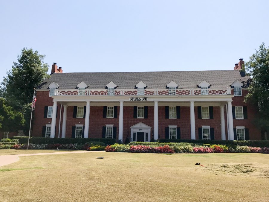 Pi Beta Phi at the University of Oklahoma has one of the largest houses on campus.