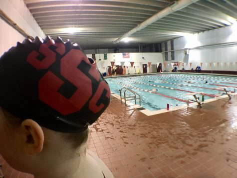 Norman swim back at OU pool