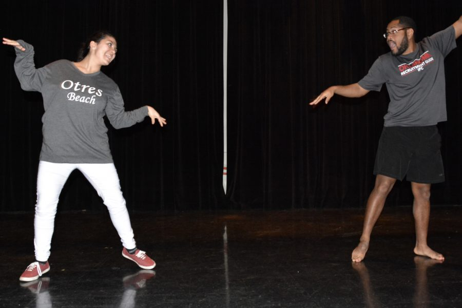 OU students compete in mock Dancing with the Stars