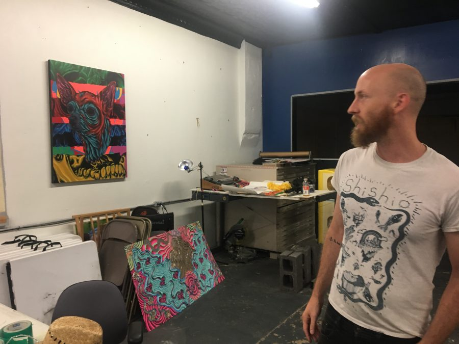 """Visual Arts Students Find Solace at Norman's Resonator Institute Amid Budget Cuts"" (Online)"