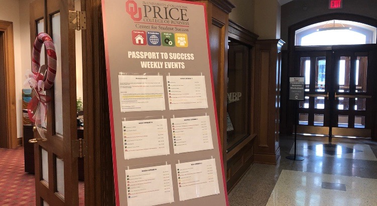 Price College of Business tweaks Passport to Success system
