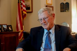 Inhofe accused of selling stocks before Covid-19 panic