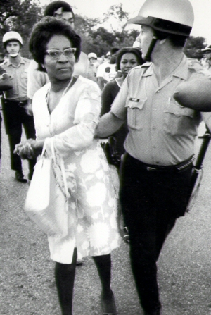 Clara Luper was a prominent figure in the civil rights movement and is largely credited with starting the movement in Oklahoma.  Photo courtesy BlackPast.org