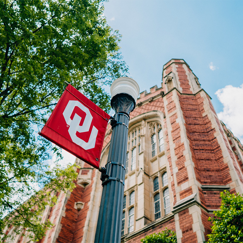 Campus culture on the University of Oklahoma continues to adapt around coronavirus restrictions. Photo courtesy OU.
