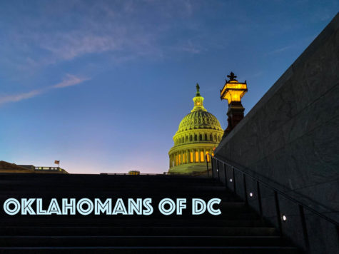 "Gaylord News launched the new podcast series ""Oklahomans of DC,"" which will highlight Oklahomans living and working in the U.S. capital. The series is hosted by Gaylord News reporter Bennett Brinkman. PHOTO: Bennett Brinkman/Gaylord News"
