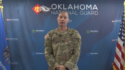 Colonel Robert Walter, Oklahoma National Guard Joint Task Force Commander, said he expects all Oklahomans to have received the COVID-19 vaccine by midsummer. Photo courtesy ngaok.org