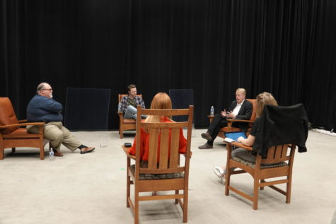 Journalists gathered for a Gaylord News-hosted panel to discuss state history and navigating the past year