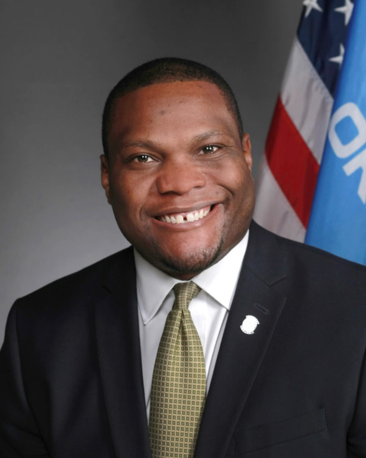 Oklahoma Representative Monroe NIchols, D-Tulsa, spoke Gaylord News for the