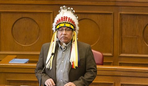 Gordon Yellowman is one of Four Principal Chiefs for the Cheyenne and Arapaho Tribes. Yellowman is also a father, husband, administrator, artist, educator, historian, and community leader. (Photo provided)