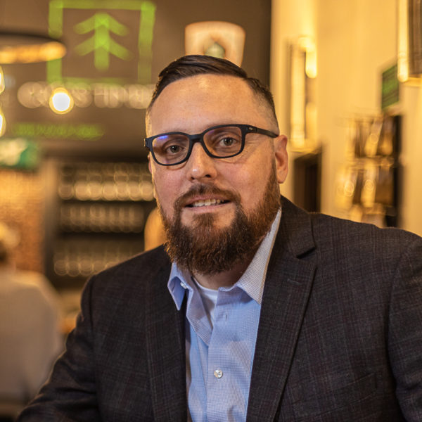 Jacob Keyes, a member of the Iowa Nation, owns and operates SkyDance Brewing Co. in Oklahoma City. It's a dream Keyes and his late father shared. (Photo courtesy Jacob Keyes)