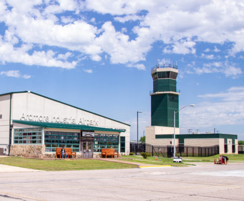 Makes Joint Restaurant and the RVA Inc. Control Tower in the background at the Ardmore Industrial Airpark. Ardmore Industrial Airpark Jake's Joint Restaurant and RVA, Inc. Control Tower  Photo Courtesy of Ardmore Industrial Airpark
