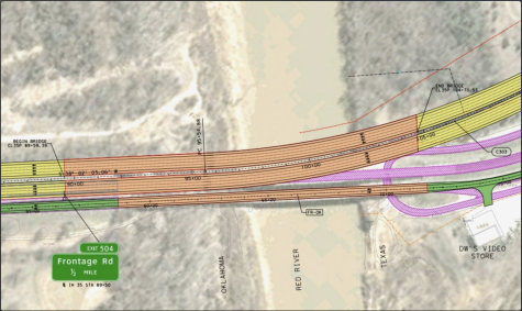 After a decade of collaboration, the Texas and Oklahoma Departments of Transportation and the Chickasaw Nation receive $50 million funding to help with the Red River project on I-35.
