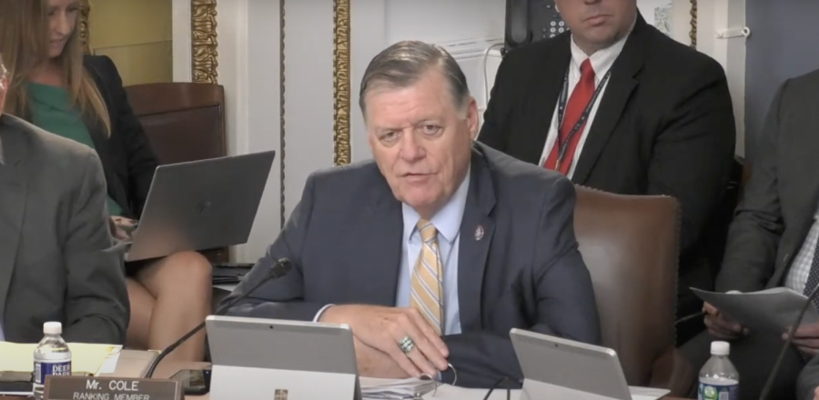 Rep. Tom Cole (R-Okla) speaks at a House Rules Committee hearing Monday. (Courtesy: House Rules Committee)