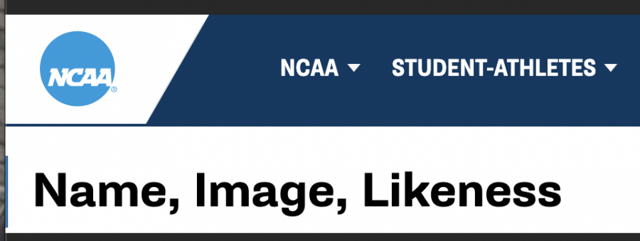 NCAA+ruled+that+athletes+can+be+compensated+for+their+name%2C+image+and+likeness.+Photo+Courtesy+of+NCAA.+