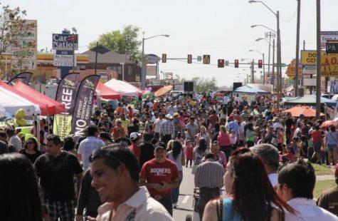 "Oklaoma City residents celebrate ""El Dia de Niño"" The Day of the Children at La 29 festival. (PHOTO courtesy Greater Oklahoma City Hispanic Chamber of Commerce)"